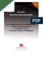 Les TI moteur de croissance dans une France Numérique