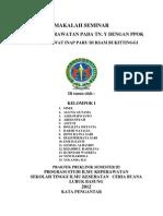 Daftar Isi Makalah Seminar
