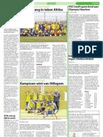 Witte Weekblad Wk 14 2012, Sport