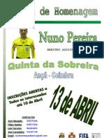 CARTAZ Homenagem Nuno Pereira