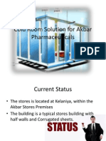 Cold Room Solution for Akbar Pharmaceuticals