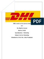 DHL Courier Service Process Study