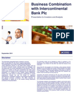 Business Combination With Intercontinental Bank Plc[1][1]