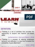Training and Development Module 1