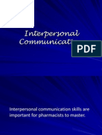 CASE 1- Interpersonal Communication