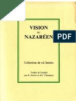 Vision du Nazaréen (Collection de « L'Initié »)