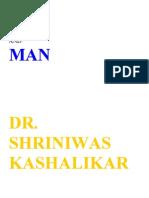 God and Man Dr. Shriniwas Kashalikar