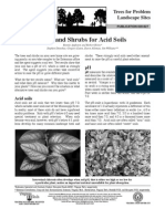 Trees and Shrubs for Acid Soils