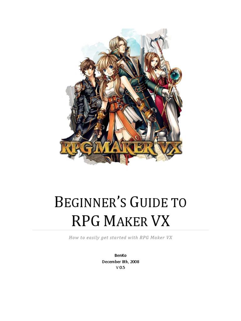 Beginner's Guide to RPG Maker VX (v0 4) | Video Game Development