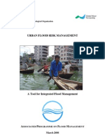 WMO (2008) Urban Flood Risk Management