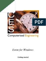 Estim for Windows Getting Started