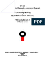 (Draft) EIA Report for Exploratory Drilling - Oil India Ltd