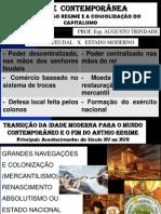 1 TRANSIÇÃO DA IDADE MODERNA AO MUNDO CONTEMPORÂNEO1