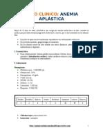 Hemato Caso Clinico Anemia AplÁstica