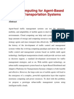 Cloud Computing for Agent-Based Urban Transportation Systems