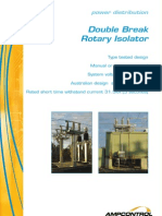 Double Break Rotary Isolator