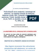 5. Profundización de la anatomía y semiología del abdomen