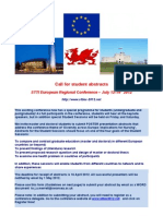 STTI European Conference STUDENT Abstract Submission Guidelines FINAL