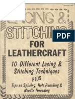 6500753 Lacing Stitching for Leather Craft