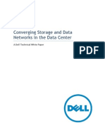 Converging Storage and Data Networks in the Data Center Dell Networking Whitepaper Sep2011