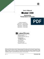 01CDT00330 - Lakeshore - 330_Manual