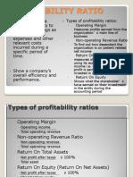Profitability Ratio