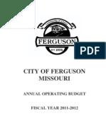 Ferguson Budget