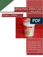 Vifon Cup Noodles - Group 2 - Kieran