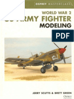 Osprey Master Class - World War 2 US Army Fighter Modeling