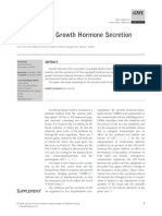 Group v - Physiology of Growth Hormone Secretion