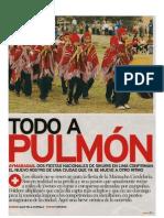 Todo a Pulmón Sikuris en Lima