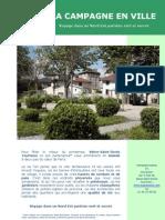 CP_La Campagne en Ville Douce Banlieue