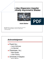 A New Gas Dispersion Impeller With Vertically Asymetric Blades