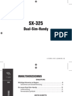 Dual Sim Handy SX-325 PX3377_11_100306