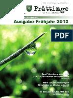 Tuxer Prattinge - Ausgabe Frühjahr 2012