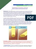 [GEO] TIERRA Características Movimientos y Estructura TEXTO