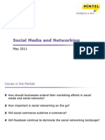 Social Media and Networking - UK - May 2011