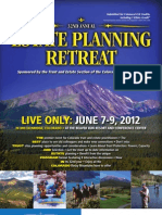 32nd Annual Estate Planning Retreat