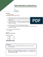 Antígeno prostático específico pdf en