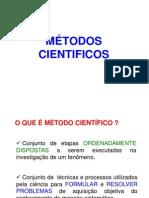 MÉTODOS CIENTIFICOS
