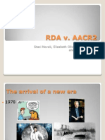 RDA vs AACR2