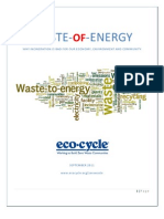 Why WTE is Wrong for the Environment, Economy and Community by Eco-Cycle