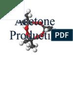 Acetone Production Report