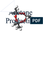 Acetone Production Report