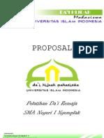 Proposal Cover Di Gku