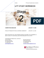 New Venture Feasibility Analysis Workbook
