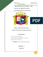PRODUCTIVIDAD Procesos de La Prod