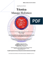 Manual Masaje Holistico