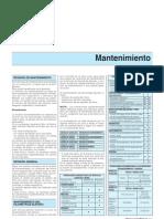 Manual de Taller Renault Scenic I - Mantenimiento