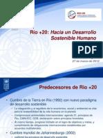 Río +20 Hacia un Desarrollo Sostenible Humano - PNUD- James Leslie
